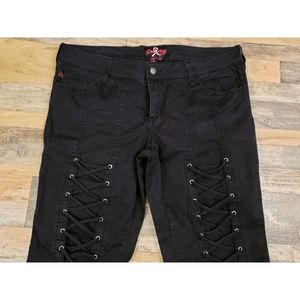 ⚜ Hot Topic Lace Up Pants